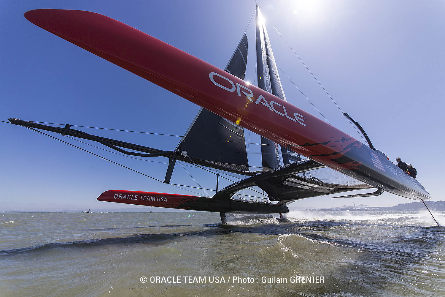 Tune In: Maker Camp Field Trip to Oracle Team USA's Super-Yacht Base Camp