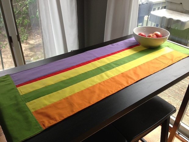 How-To: Eames-Inspired Table Runner