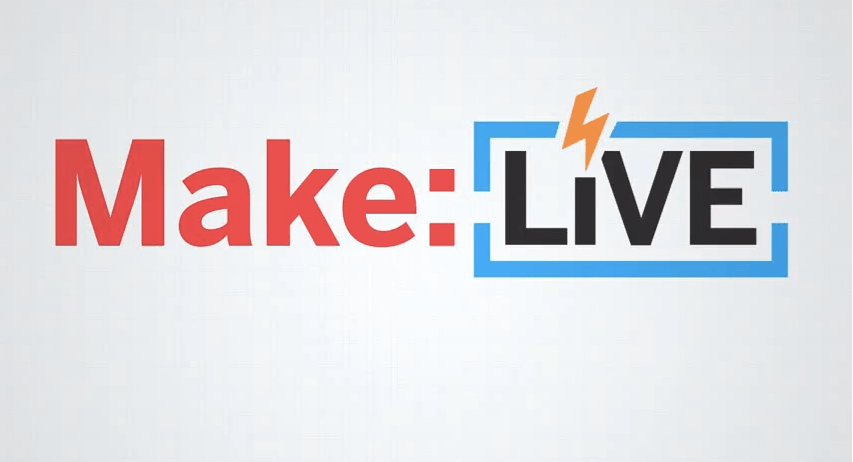 Create Your own MAKE Live! Show using Wirecast for YouTube