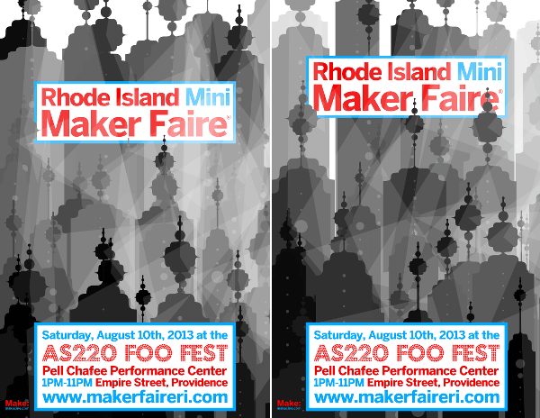 Making Hundreds of Unique Mini Maker Faire Posters With Processing
