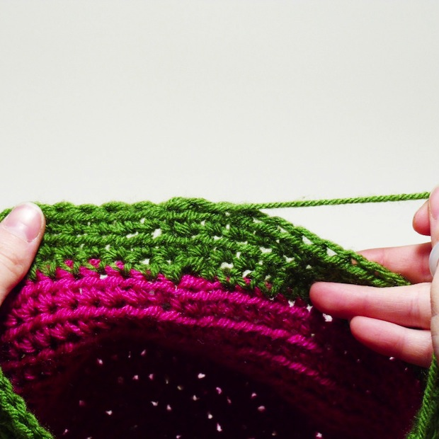 How-To: Invisible No-Knot Crochet Finish