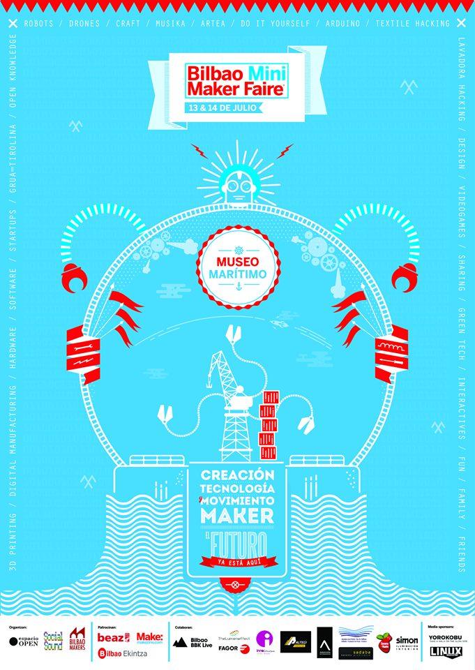 This Weekend: Bilbao Mini Maker Faire