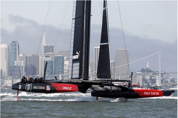 Behind the Scenes With Oracle Team USA