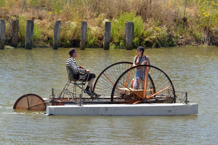 Rivertown Revival Art Boat Contest