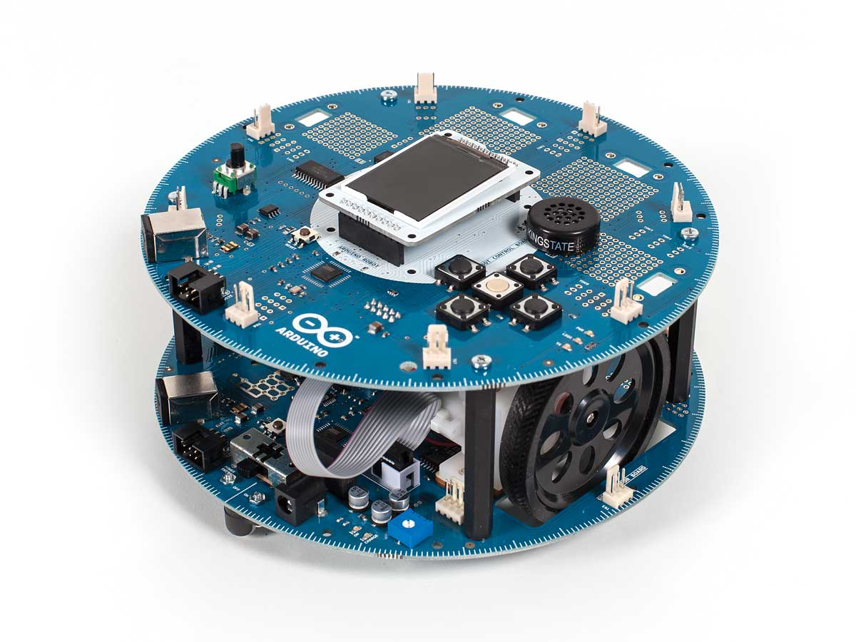 Making the Future with Arduino — Introducing the Arduino Robot