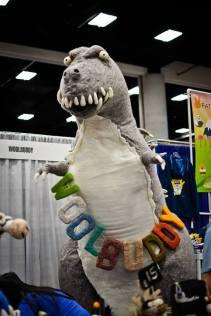Attack of the 10 foot Woolbuddy Godzilla