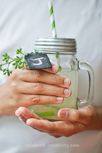 How-To: Chalkboard Drink Tags