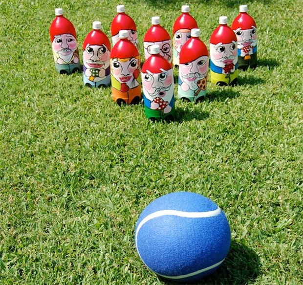 Flashback: Gnome Lawn Bowling Game