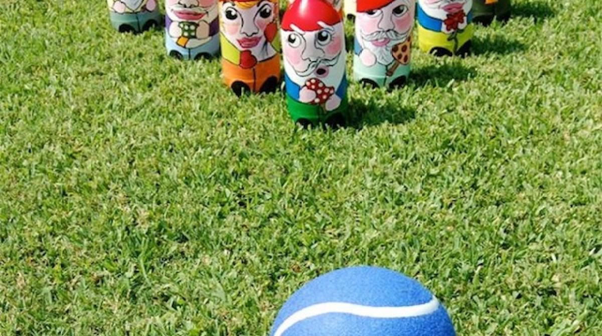 Flashback: Gnome Lawn Bowling Game