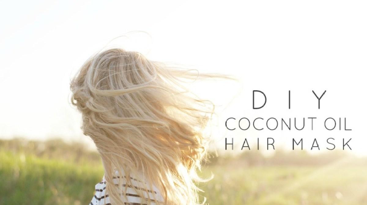 Homemade Coconut Oil Hair Mask