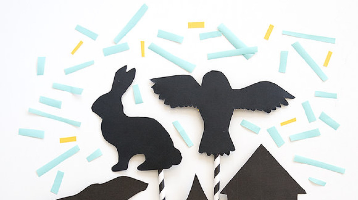 How-To: Bedtime Story Shadow Puppets