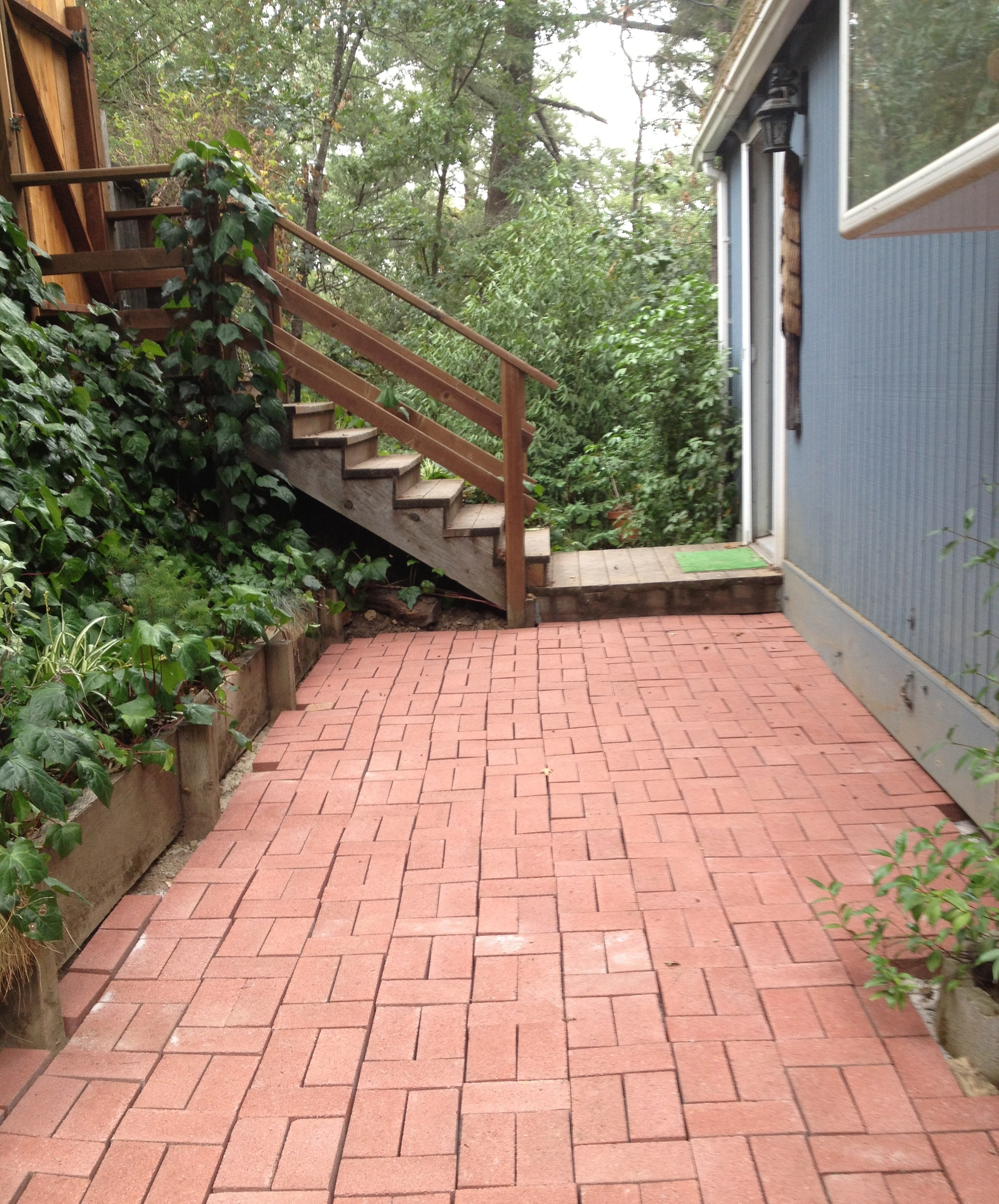 The Gift of Making: My New Brick Walkway