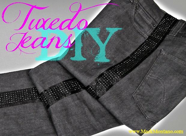 How-To: Tuxedo Jeans