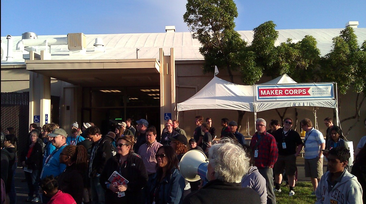 Gain Experience & Knowledge with Maker Corps at Maker Faire