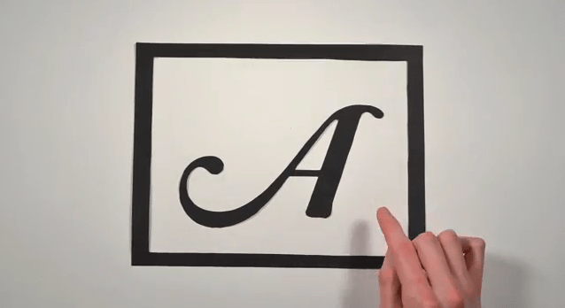 Stop-Motion History of Typography