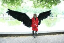 Cosplay takes flight at Maker Faire Hannover. By Martin Klauss.