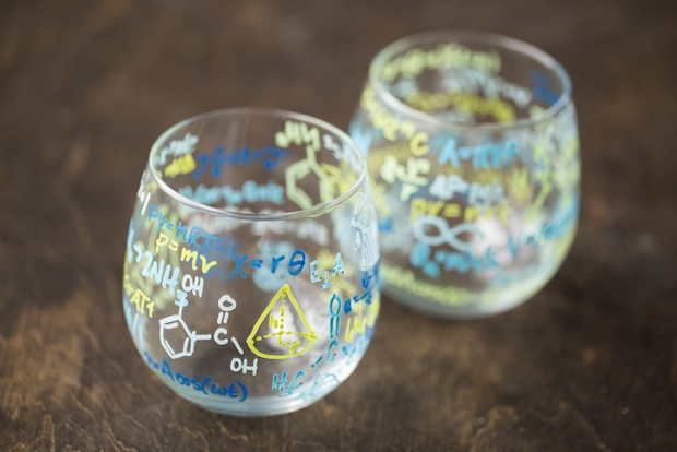 How-To: Breaking Bad-Inspired Formula Drinking Glasses