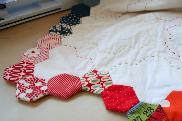 How-To: Hexagon Quilt Border