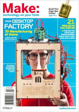 Special Event: Live Interview with MakerBot's Bre Pettis, Monday 9/16