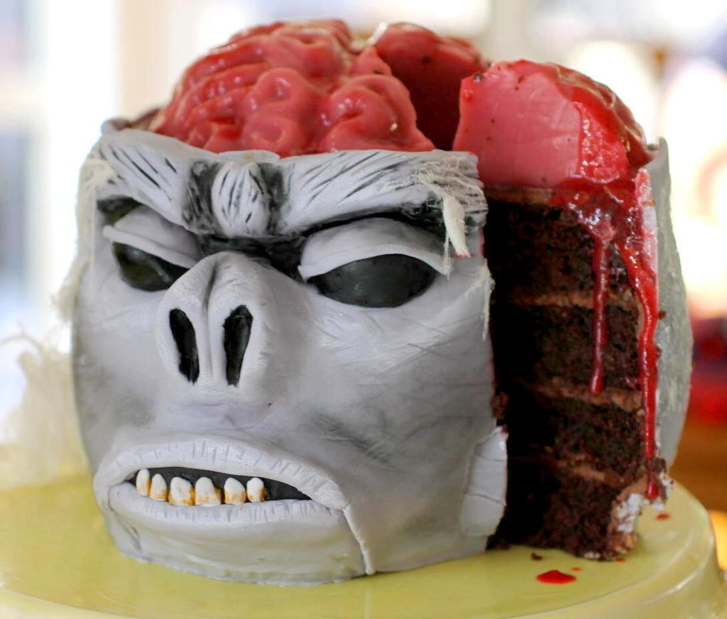 How-To: Chilled Monkey Brain Cake