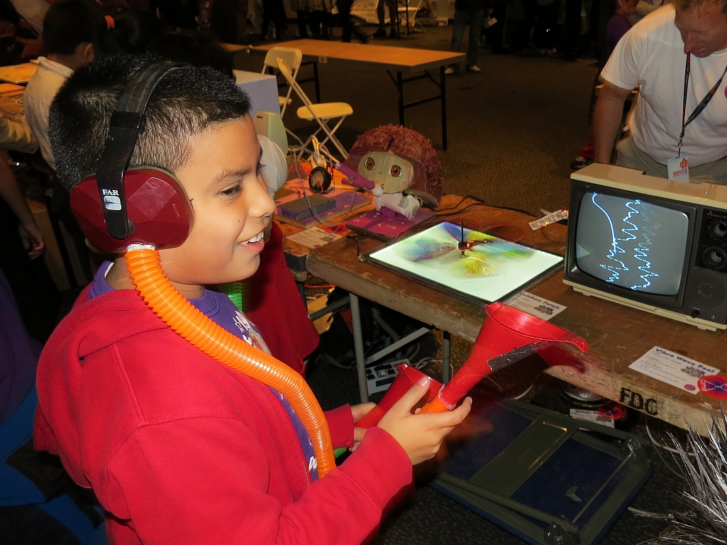 Fun, Thrills, (and Learning) at Maker Faire Education Day