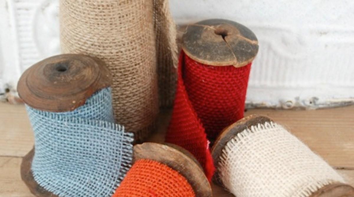 How-To: DIY Burlap Ribbon