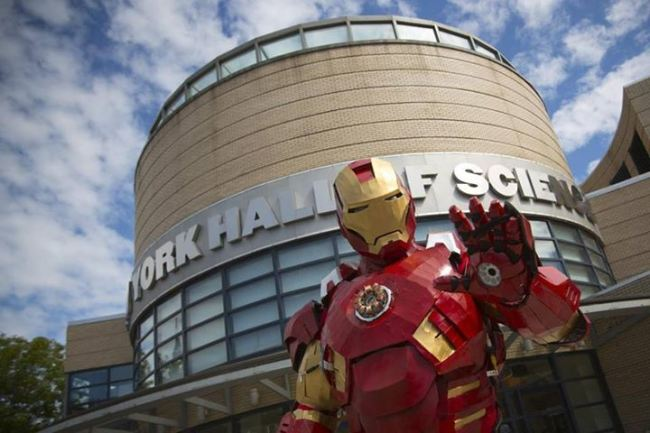 Stark Industries and the Iron Man of Maine