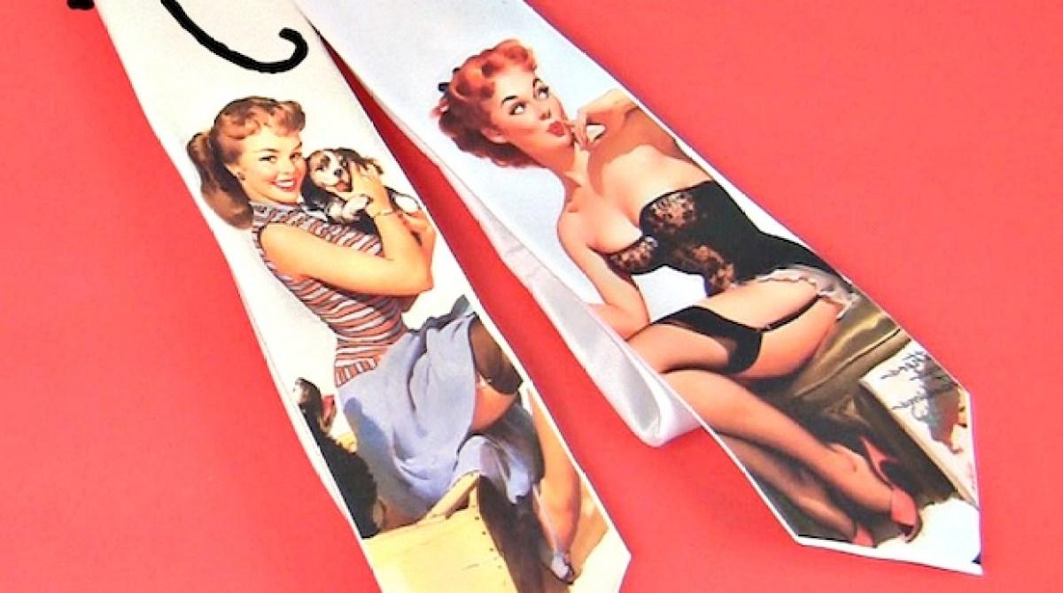How-To: Rockabilly Pinup Necktie