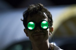 MAKE Labs coordinator Sam Freeman's eyes light up at the mention of Maker Faire.