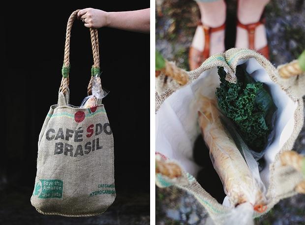 How-To: Coffee Sack Market Bag
