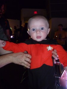 Captain Picard. Ok, it's a onesie, not a t-shirt, but how could we resist?