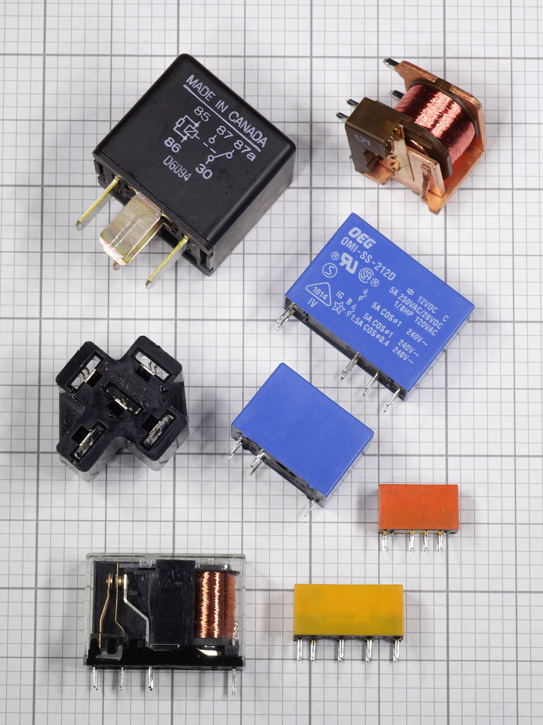 Component Of The Month Relays Make Current Through Relay Coil
