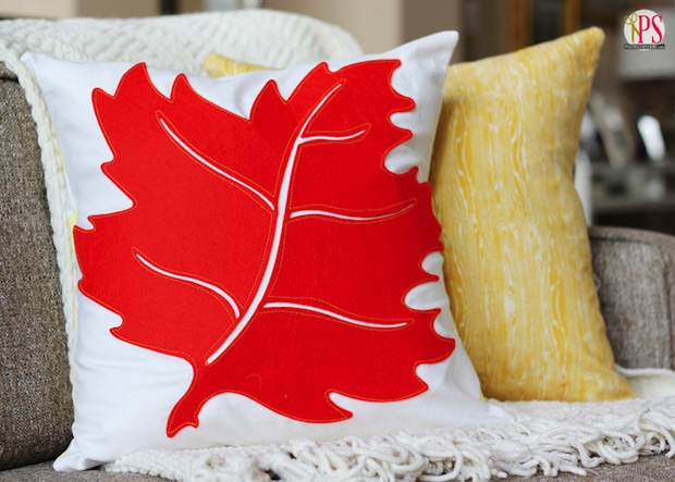 How-To: Fall Leaf Pillow