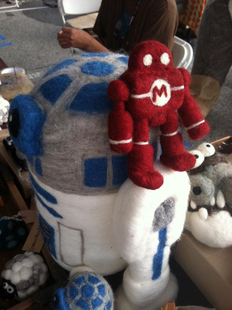 Woolbuddy's Makey the Maker Faire Robot