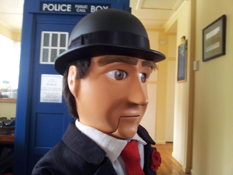 Amazing Arduino-Powered Avengers John Steed Puppet