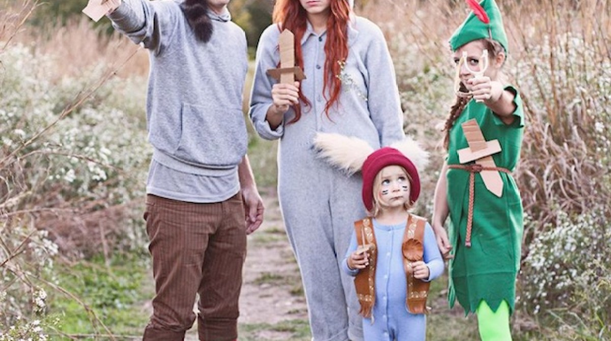 How-To: DIY Peter Pan and the Lost Boys Costumes