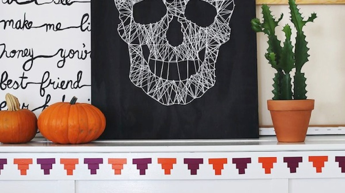 How-To: Skull String Art