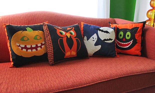 Flashback: Halloween Pillow Covers
