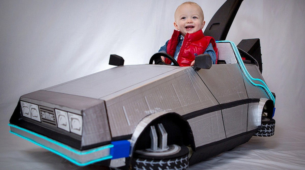 How-To: Delorean Push Car