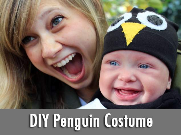 How-To: Baby Penguin Costume