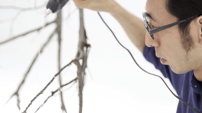 Yasuaki Onishi's Hot Glue Art