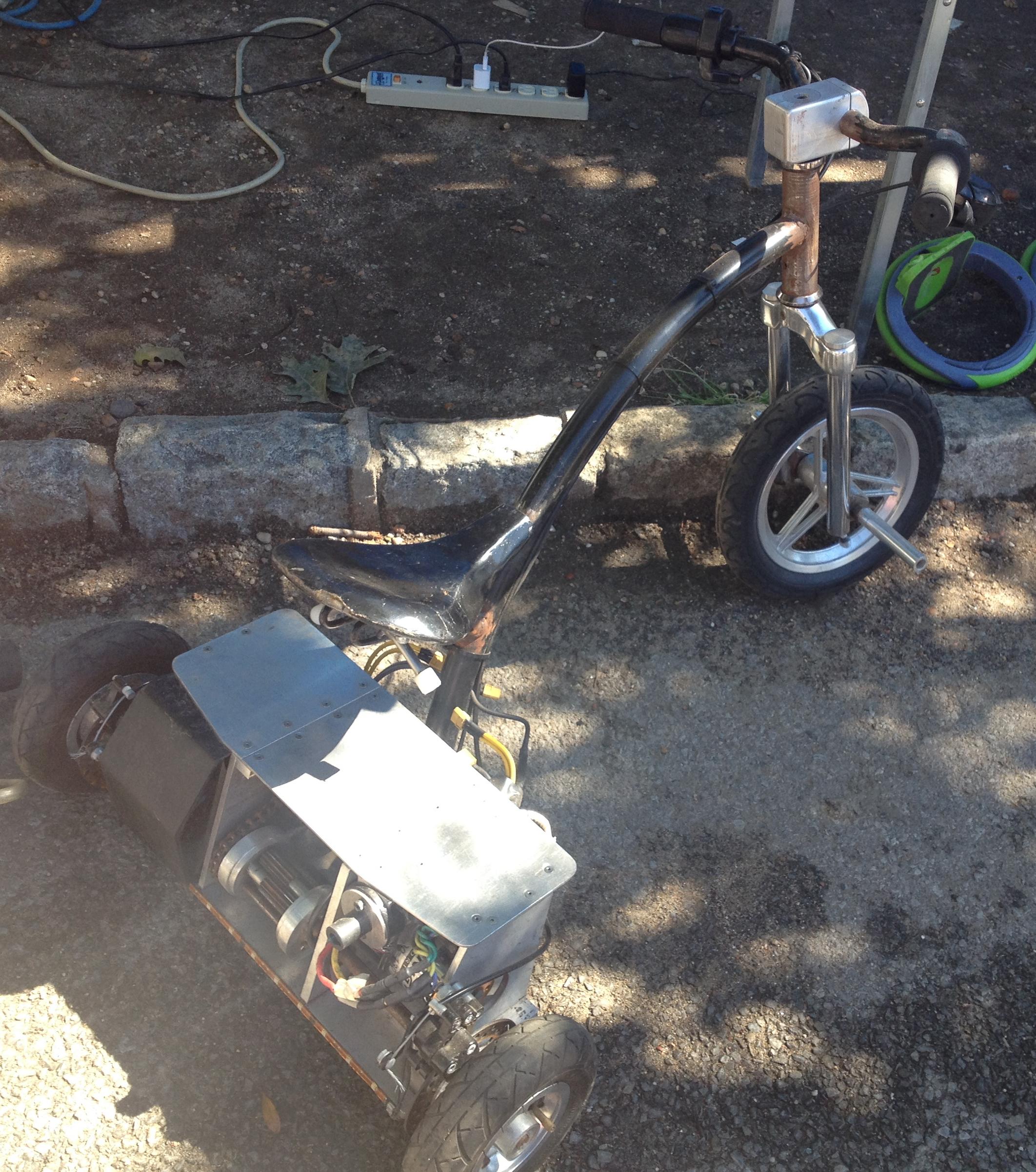 Ben Katz' Electric Tricycle