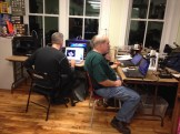 At the 3DPP prosthetics build party