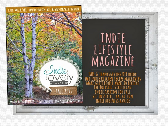 Fall 2013 Indie Lovely Magazine is Now Available