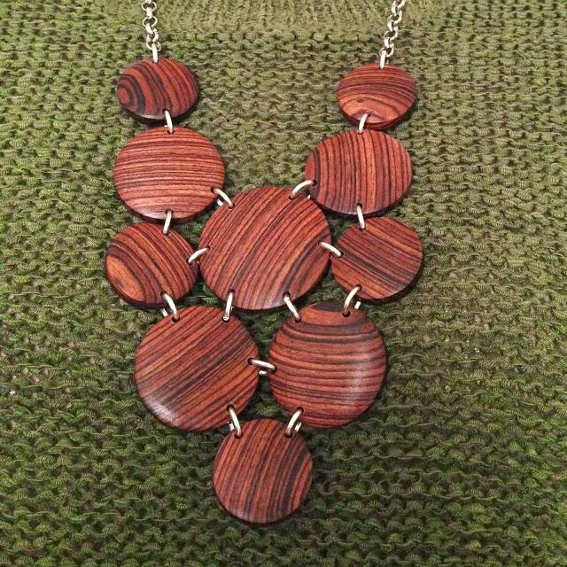 DIY Wooden Necklace