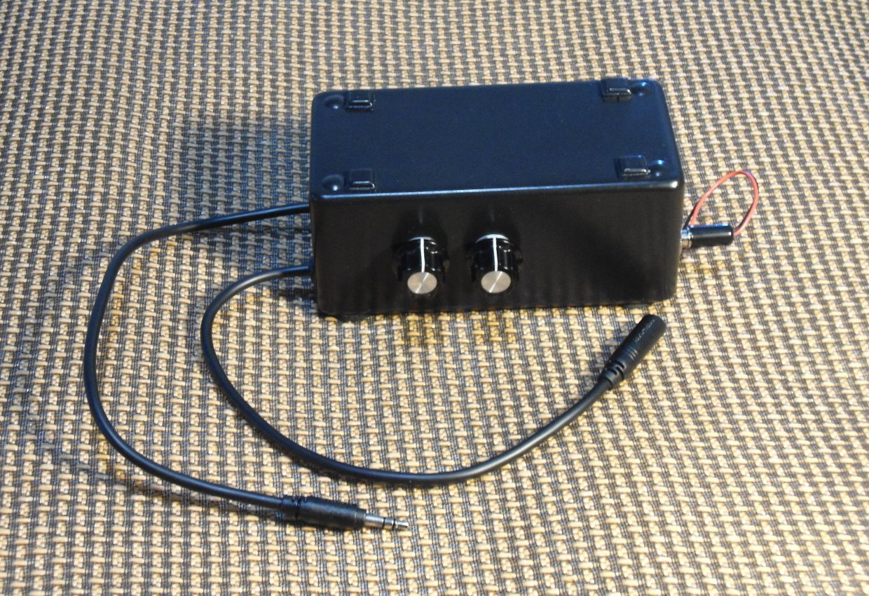 bass bump headphone amp make