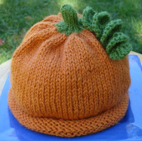 How-To: Knit Pumpkin Hat