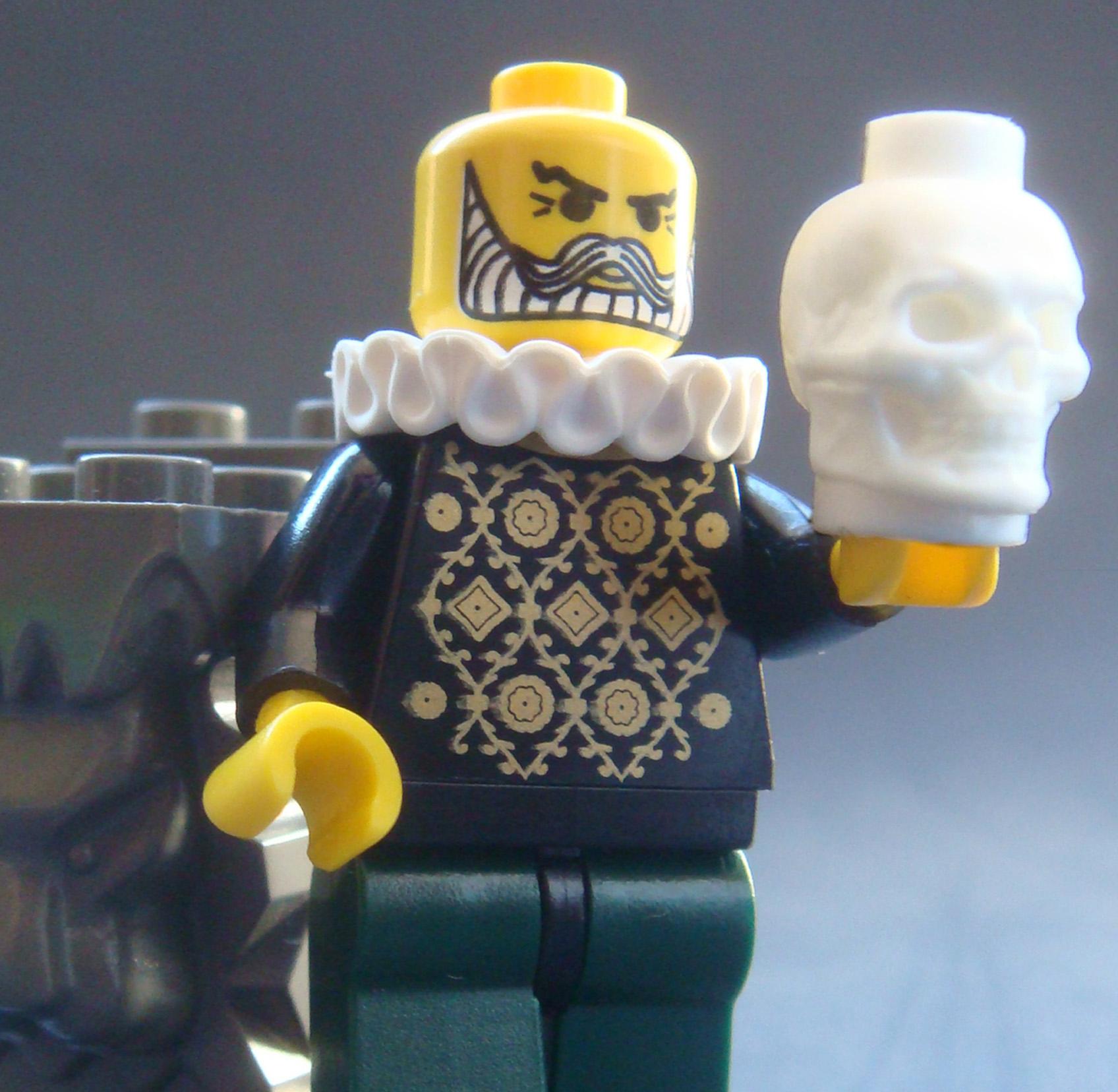 Custom Skulls For Your Halloween Lego Creations
