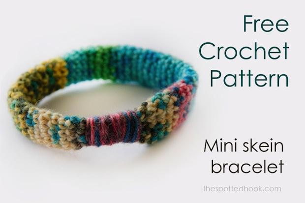 How-To: Crocheted Mini-Skein Bracelets