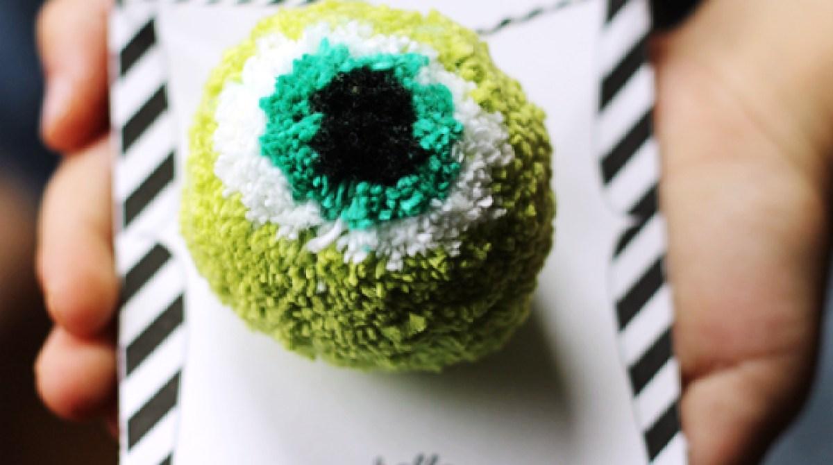 How-To: Eyeball Pom Pom